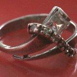 Кольцо Перстень Серебро 925 Проба 2,02 Гр 15,5 Р Playmoment