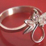 Кольцо Перстень Серебро 925 Проба 2,04 Гр 15,5 Р Playmoment