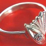 Кольцо Перстень Серебро 925 Проба 2,12 Гр 17,5 Р Playmoment