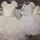 Шикарное платье 4-7лет