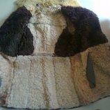 дубленка натуральная овчина унисекс 46-48р