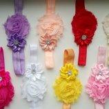 Шикарные нарядные красивые повязки для ваших принцесс