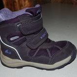 зимние ботинки viking 27 размер на девочку