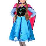 костюм Анна «Холодное сердце» карнавальный костюм для девочки