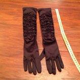 Новые длинные перчатки