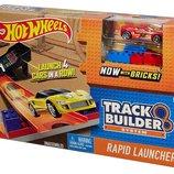 Трек Hot Wheels Track Builder Rapid Launcher Playset