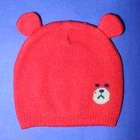 Демисезонная шапка Мишка