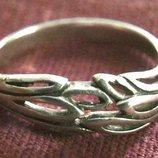 Кольцо Перстень Серебро 925 Проба 2,32 Гр 18 Разм Playmoment