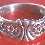 Кольцо Перстень Серебро 925 Проба 2.54 Гр 18 Разм Playmoment