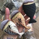 Кисть для макияжа Рыбка натуральный ворс