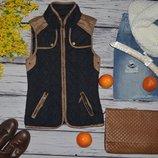 6/32/34/S Фирменная женская жилетка жилет стеганная моднице Atmosphere