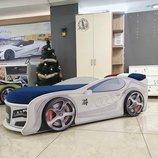 Кровать машина с подстветкой подарок Автономер Отправим по Украине