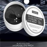 Гидрогелевые патчи с Черным жемчугом Purederm Black Solution Hydrogel Eye