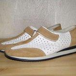 Немецкие кожаные туфли rieker, 39р, Идеал