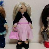 Куклы с ресничками-Декор, ручная работа