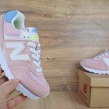 Кроссовки женские New Balance 574 light pink