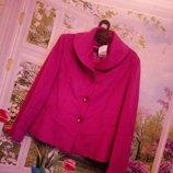 Femme Новое пальто цвет фуксия р12