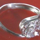 Кольцо Перстень Серебро 925 Проба 2,75 Гр 16 Разм