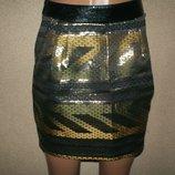 Золотая юбка Lepetite francaise р-р36
