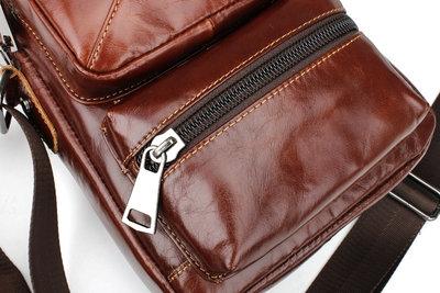 e71994a37971 Молодежная мужская кожаная сумка, рыжего, коричневого цвета, натуральная  кожа. Previous Next