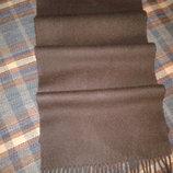 Кашемировый тёплый шарф, 100% кашемир, 160 см х 34 см