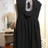 Нарядное красивое вечернее/коктейльное платье бюстье, yessica c&a