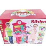 Детская Кухня 43 детали. Посудка. Звук .Свет.