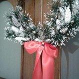 Рождественский веночек ручной работы 350 грн