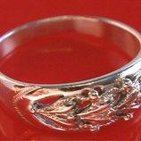 Кольцо Перстень Серебро 925 Проба 3,01 Гр 18,5 Р Playmoment
