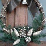 Рождественский веночек ручной работы 630 грн.