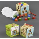 Деревянная игра С 23047 Куб-Логика