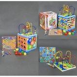 Деревянная игра С 23061 Куб-Логика