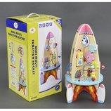 Деревянная игрушка С 23214 Логическая ракета
