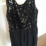 Готовимся к Новому году красивое вечернее платье размер 12-16
