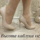 Туфли-Лодочки М Королева , эко-замша