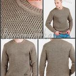 цвета Теплый свитер двойной вязки мужской джемпер