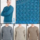 цвета джемпер вязаный узор переплетением мужской свитер
