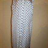 44 разм. Стильное платье в горох More&More длина по спинке - 106 см., пог - 61 см., поб - 63 см. по