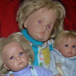 Цена за 3.Hildegard Gunzel Gotz Хильдегард Гюнцель коллекционная кукла пупс гетц германия куколка