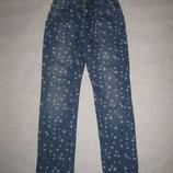 10-11 лет, крутецкие джинсы со звёздами, Турция