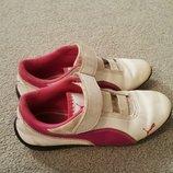 Кожанные кроссовки Puma р-р 30