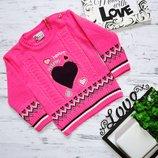 Вязанный свитерок для девочки