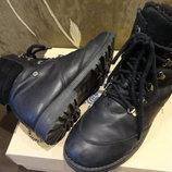 Ботинки кожаные Bartek зима, мальчику