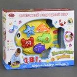 JT Игра Рыбка 7385 24 музыкальная, звуки животных, обучение, свет, в коробке