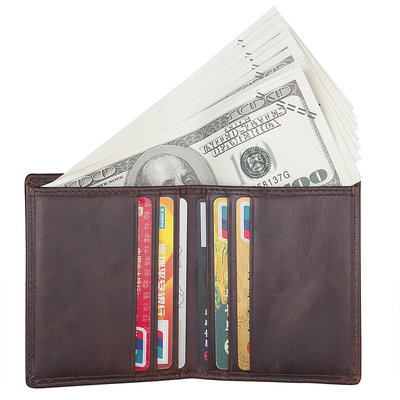 Кожаный кошелек портмоне мужское натуральная кожа R-8172-2Q