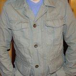 Стильная фирменная демисезонная курточка милитари бренд l.o.g.g. л.