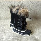 Sorel р.35-36 нові чобітки снігоходи шкіра оригінал