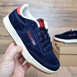 Кроссовки Reebok Workout dark blue 36-40р