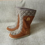 Чобітки валянки зима шкіра оригінал Sorel NL2073-286 розмір 36-36.5