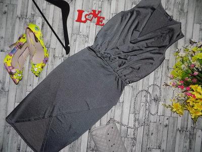 Эффектное вечернее платье миди